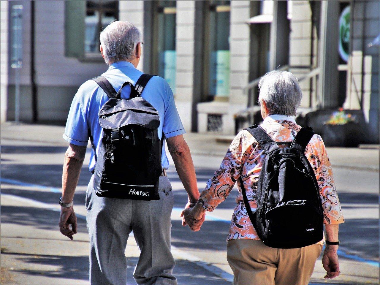 Rentnerpaar auf Weltreise