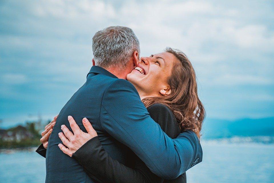 Verliebtes Paar über 50